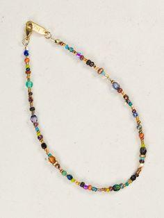 Sonoma Glass Bead Anklet