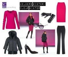 Het heldere wintertype/ Clear winter color type. By Margriet roorda on Polyvore featuring mode.