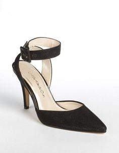 Caparros Ingrid Ankle-Strap Pumps Black