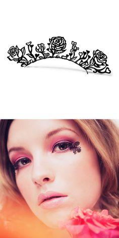 Rose eyelashes #halloween