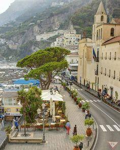 Amalfi, Italy #italyphotography