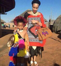 Swaziland African Attire, African Wear, African Women, African Dress, African Inspired Fashion, Latest African Fashion Dresses, Ethnic Fashion, Fashion Women, African Traditional Wedding