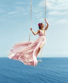 Natalie Portman by Norman Jean Roy for Harper's Bazaar US August 2015