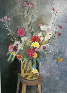 Bouquet of Mixed Flowers (1917) | Henri Matisse