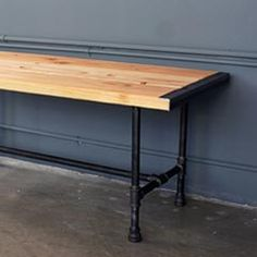 HomeMade Modern Pipe Bench