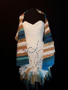 woven dress by cathy kasdan, via Flickr