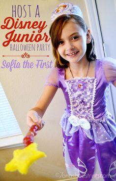 Host a Disney Junior Halloween Party with Sofia the First #JuniorCelebrates #shop