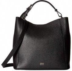 a07cd17d2c78 Frances Valentine Medium June Hobo Hobo  Handbags  hobohandbags  leather hobo  bag  Burberryhandbags