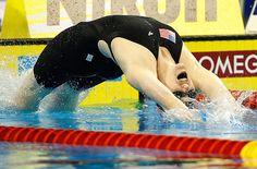 @Missy Franklin role model & amazing swimmer! <3