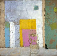 Pierre Lesieur, Mur, toiles et chaise