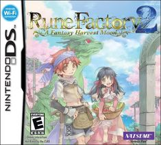 Rune Factory 2: A Fantasy Harvest Moon - Nintendo DS - http://battlefield4ps4.com/rune-factory-2-a-fantasy-harvest-moon-nintendo-ds/