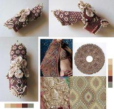 Eryn Simonetti - Awesome beaded finger rings!   бисерное ткачество. Фенечки класса люкс