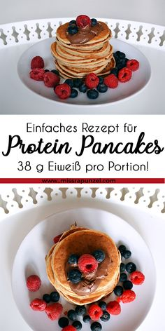 Pancakes are tasty and rich in protein - and they are perfect for . Protein Pancakes are tasty and rich in protein - and they are perfect for . Protein Pancakes are tasty and rich in protein - and they are perfect for . Rich In Protein, Healthy Protein, Protein Foods, Healthy Snacks, Low Carb Protein Pancakes, Ideal Protein, High Protein, Pancake Proteine, Pancake Healthy
