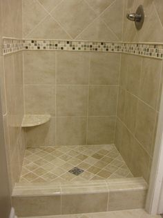 Small Shower Design Ideas, Pictures, Remodel, and Decor - page Small Bathroom Ideas Pictures Small Shower Remodel, Diy Bathroom Remodel, Bath Remodel, Bathroom Renovations, Bathroom Makeovers, Small Tile Shower, Small Shower Stalls, Diy Shower, Small Bathroom Shelves