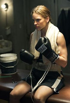 Hilary Swank as Maggie Fitzgerald, Million Dollar Baby (2004)