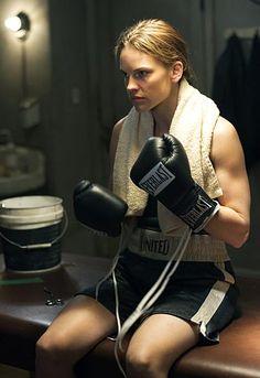 Hilary Swank as Maggie Fitzgerald, Million Dollar Baby (2004)
