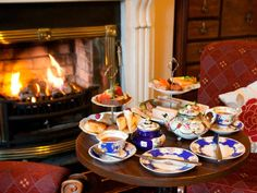 fireplace tea - Google Search