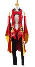 Anime Guilty Crown Yuzuriha Inori Cosplay Costume Party Fancy Dress Red Uniform