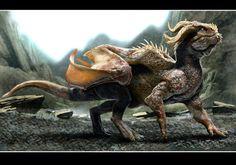ravine dragon 5 by nebezial