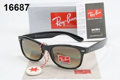 Ray Ban Online Sale Ray-Ban Wayfarer Sunglasses Lens Brown Frame Black