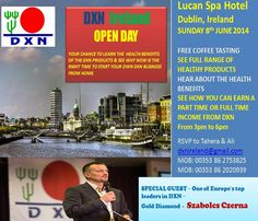 DXN Ireland - Dublin, Sunday 8.- June 2014