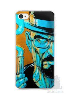 Capa Iphone 4/S Breaking Bad #1 - SmartCases - Acessórios para celulares e tablets :)