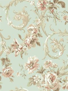 This soft and airy rose pattern will make you think you're frolicing through a…