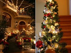 Christmas garlands and staircase decorations provide you any look you desire without expensive costs or extra effort. Description from christmas-fashion.weebly.com. I searched for this on bing.com/images