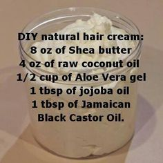 Whipped shea butter recipe