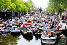 canal concert in august in Amsterdam Prinsengracht Concert in Amsterdam