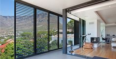 Modern Style Security Blinds  And Hurrican Banner 23