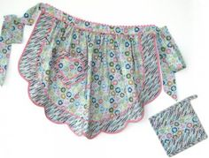 Great vintage-style aprons and other fun items...in fun fabrics.