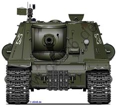 Engines of the Red Army in WW2 - ISU-122(S) Heavy Self-Propelled Gun