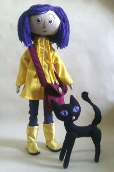 Soul of a rag doll: Coraline second - Ninka loves Coralina story :)