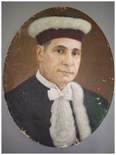 MÁRIO MIDOSI CHERMONT, 1951. Óleo sobre tela, 58 x 45 cm. Autora: Antonieta Santos Feio.