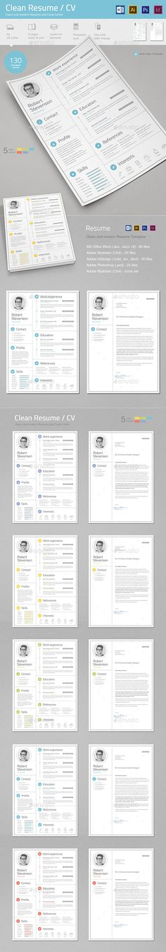 CV Word - resume on word