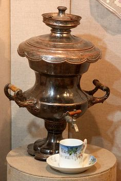 Samovar from Museum of Tver life - Russia