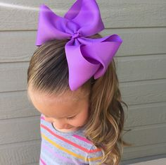 Over sized hair bows over sizes bows large hair bow xlarge bow jumbo hair bow pastel color Cute Box Braids, Kids Box Braids, Small Box Braids, Braids For Short Hair, Cute Toddler Hairstyles, Baby Girl Hairstyles, Girl Hair Dos, Large Hair Bows, Braids With Beads