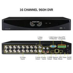 16 Channel Video Security Sys - Night Owl - F6-DVR16