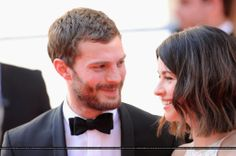 Jamie Dornan and wife Amelia Warner at the BAFTA TV AWARDS <3