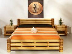 wohnideen bambus möbel deko bambusholz schlafzimmer