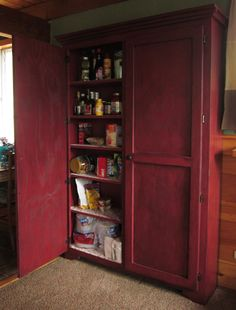 Our New Pantry    Anna White Beginner Level Project