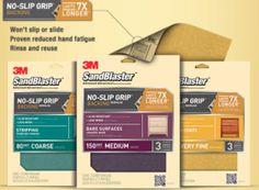 FREE 3M Sandblaster No Slip Grip Backing Sample