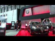 Alfa Romeo Stand at Geneva Motor Show 2013 #AlfaRomeo  #AlfaRomeo4C #SIAG