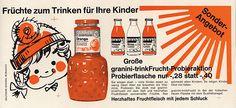 1969 | Eine Flasche wie eine Ananas –   Wen erinnert die granini Flasche auch an eine Ananas? Die bauchige Form, die kleinen Dellen – so betont die Flasche die Fruchtigkeit unserer Säfte.