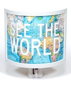 Another great find on #zulily! 'See the World' Night-Light by Common Rebels #zulilyfinds