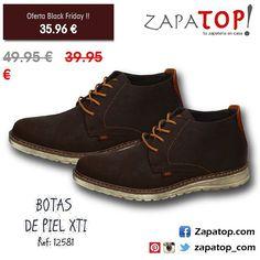 Se acaba el #blackfriday. ¡Compra ya en zapatop.com! #botas de piel en color marron marca #XTI  #calzado #deportivos #zapatillas #deportivocasual #zapatoshombres #hechoenespaña #casual #zapatillasonline #zapatillasparatodos #ventazapatillas #zapatillashombre #comprarzapatillas #zapatillasoferta #zapatos #deportivasonline #zapatosonline #hechoenespaña #españa #zapatos #calzadoespañol #invierno #modaespaña #moda2016 #instamoda #modazapatos #viernesnegro Men Dress, Dress Shoes, Timberland Boots, Derby, Oxford Shoes, Lace Up, Photo And Video, Instagram, Fashion