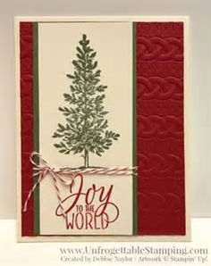 17 Best ideas about Stamped Christmas Cards on Pinterest | Xmas cards handmade, Christmas cards ...