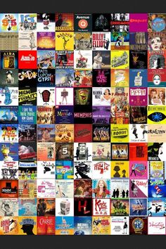 Lots an lots of Broadway shows to go to, and get to!