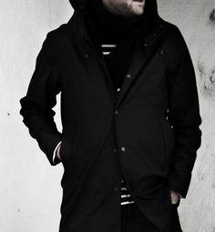 Stutterheim Swedish Raincoats via Hypebeast